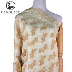 New Arrival High Quality Swiss Cotton Voile Lace pictures & photos