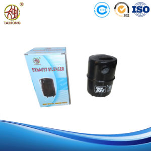 R175A Diesel Engine Spare Parts Silencer in Black Color pictures & photos
