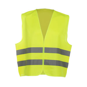 High Visibility Reflective Contruction Safety Vest with Class 2 Eniso 20471
