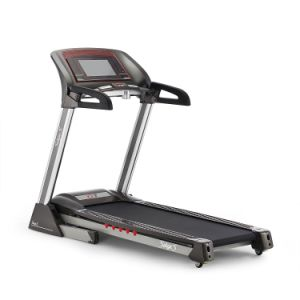 Luxury Light Commercial Use Motorized Treadmill with TFT Touch Screen and WiFi