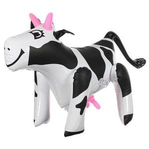 """17"""" Party Inflatable Cow Blow up Farm Yard Animal Novelty Toy pictures & photos"""