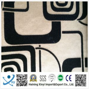 New Design Soft Popular Custom 100%Polyester Flocking Fabric pictures & photos