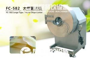 FC-501 Potato Chip Cutting Machine Ginger Slicer Ginger Shredder pictures & photos