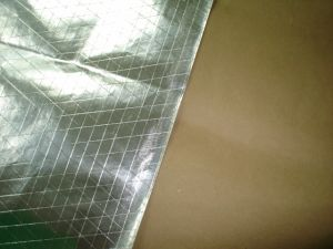 Double-Sided Fsk Facing / 3-Way Foil Kcrim Heating Insulation Kraft pictures & photos