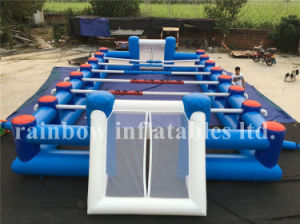 Hot Sale Inflatable Human Table Football for Fun, Inflatable Football Game for Kids or Adults pictures & photos