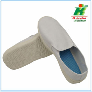 ESD PVC Shoe (LH-122-5) , Antistatic Working Shoes in Cleanroom Use pictures & photos