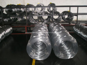 High Carbon Galvanized Z2 Spool Spring Steel Wire pictures & photos