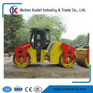 Full Hydraulic Double Drum Road Roller 10 Tons with Cummins 82kw pictures & photos