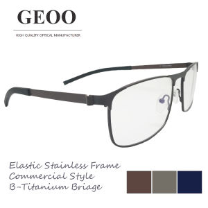 Stainless & B-Titanium Bridge Optical Frame (XS5651) pictures & photos