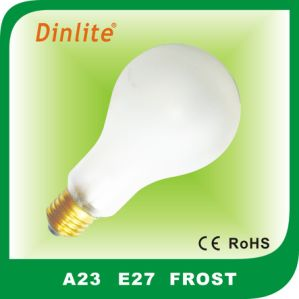 A23 E27 incandescent bulb pictures & photos