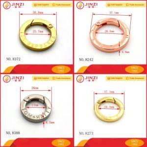 Various Custom Brand Logo Clip Ring Metal Spring Ring pictures & photos