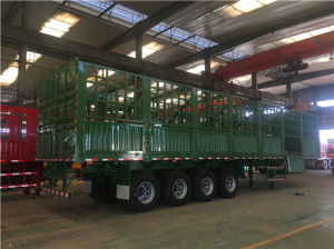 4 Axles Side Wall Trailer pictures & photos