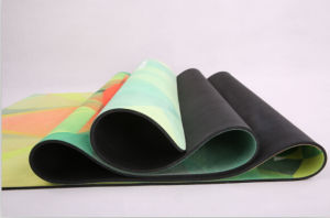 Premium Quality Non-Slip Open-Cell Natural Rubber Yoga Mat pictures & photos
