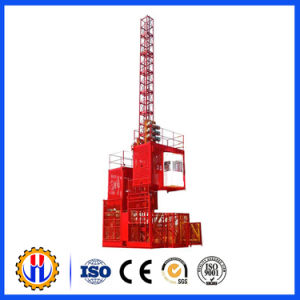 Construction Hoist with Gjj Gearbox Hoist /Reducer pictures & photos