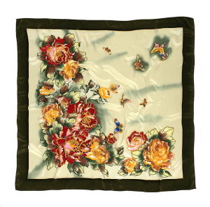 New Digital Print Silk Scarf, Silk Twill Scarf. Silk Scarves pictures & photos