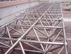 Steel Structure Building Steel Pipe Steel Truss pictures & photos