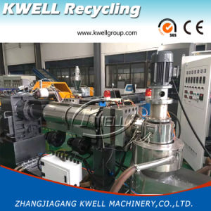 EVA/ABS/PP Granulating Line/Extrusion Machine/Extruder Machine with Force Feeder pictures & photos