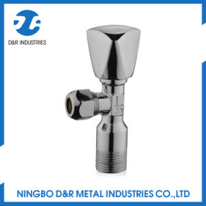 Factory Direct Chromed Brass Angle Valve pictures & photos