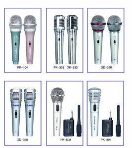 Microphone Handheld Wired Condenser Magic Karaok Singing Hot Sale, Lowest Price pictures & photos