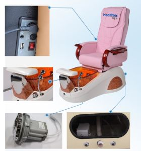 2017 New Pink PU Leather Pedicure SPA Massage Chair (A202-18K) pictures & photos