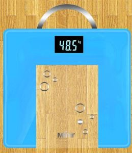 Tempered Glass Body Scale 3-180kg Square Type pictures & photos