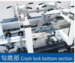 GS Series High Speed 4/6 Corner Box Folding Gluing Machine (GK-650GS) pictures & photos