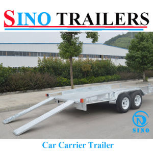 Hot Dipped Galvanised Car Carrier Trailers pictures & photos