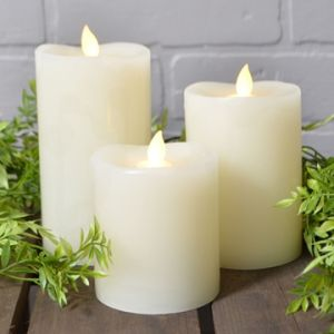 Flickering Battery Operated Flameless LED Candle for Home Decoration pictures & photos