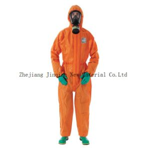Protective Coverall Material Waterproof PE Lamination Nonwoven Fabric pictures & photos