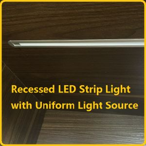 Touch Dimmer Recessed LED Rigid Strip for Cabinet, Furniture and Wardrobe pictures & photos