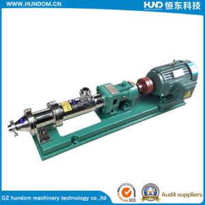 High Quality Food Grade G Series of Single Screw Pump pictures & photos