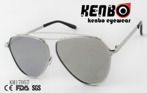 Double Eyebrow Design Fashion Metal Sunglasses Km17057 pictures & photos