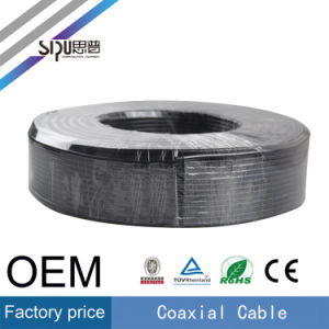 Sipu Factory Price CATV CCTV Cables RG6 Coaxial Cable Wire pictures & photos