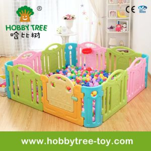 2017 Marcarons Color Plastic Baby Indoor Game Fence (HBS17052A) pictures & photos