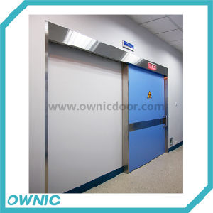 Zftdm-4 Automatic Sliding X-ray Lead Door Radiation Protection Door CT Room Door pictures & photos