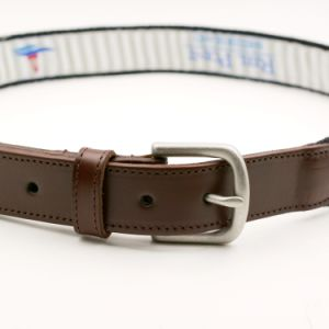 Custom Embroidery Belts Authentic Leather Belts for Men pictures & photos