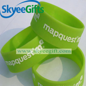 Personalized Design Silicone Bracelet for Promotional pictures & photos