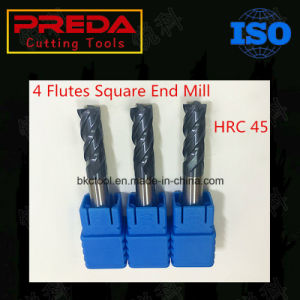 High-Q CNC Solid Carbide Indexable 4 Flutes Square End Mills pictures & photos