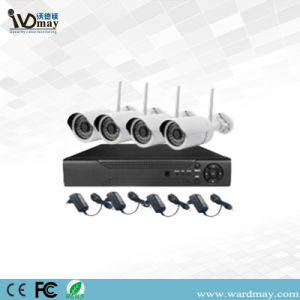 Wdm 4CH 1080P CCTV IP Camera Kit with Wireless WiFi P2p NVR pictures & photos
