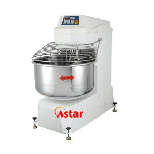 260L 100kg Spiral Mixer Double Motor Double Speed Food Processor Bakery Machine pictures & photos