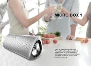 Metallic Finish Mobile Phone Mini Portable Bluetooth Wireless Speaker pictures & photos