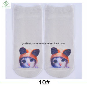 Europe New Factory Animal 3D Stereo Printed Custom Boat Socks pictures & photos