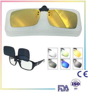 New Arrival Fashion Magic Polarized Sun Glasses Clip on Sunglasses pictures & photos