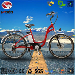 Alloy Frame 250W Hydraulic Suspension Electric City Road Bike pictures & photos