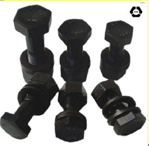 Black Heavy Hex Bolt A325m and Heavy Hex Nuts pictures & photos