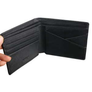 Men Genuine Leather Wallet Fashion Brand Purse Cowhide High Quality pictures & photos