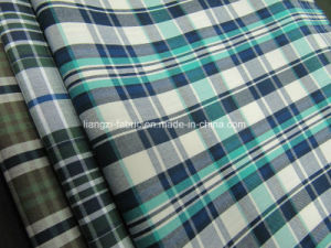 100% Cotton Yarn Dyed Poplin Check Fabric for Shirt pictures & photos