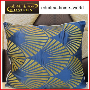 Embroidery Decorative Cushion Fashion Velvet Pillow (EDM0324) pictures & photos