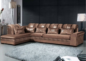 Fashion Sofa Modern Living Room Wooden Sofa (HX-SL048) pictures & photos