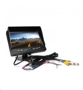 7 Inch Car Rear View Waterproof Reverse Camera System pictures & photos